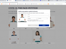 face-petition 1.0 modal